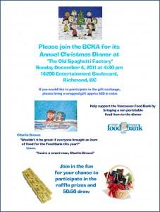 BCKA Christmas Party Invite